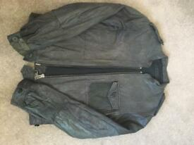 All Saints Leather Jacket (Size S/36)