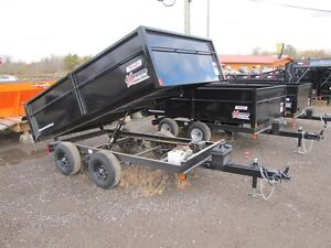 2016 CAM Superline 3.5 TON EXTREME-ROAD-AND-TRAIL DUMP TRAILER Peterborough Peterborough Area image 3