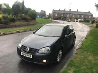 2008 08 VW GOLF GT SPORT 2.0 TDI 140 FSH TOP OF THE RANGE 2 OWNERS MUST SEE BARGAIN £1395 OVNO