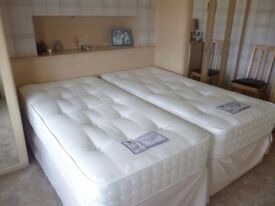 Two 3ft mattress for sale Heritage 2000 Deep sleep. As new condition. pocket spring in a 150cm