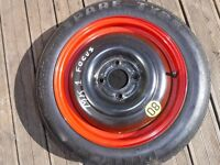 Space Saver Spare wheel & Tyre (Ford Focus/ Fusion)