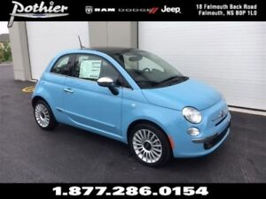2017 Fiat 500 Lounge | LEATHER | FIXED GLASS ROOF | UCONNECT |