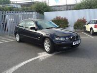 2002 BMW 318 TI SE COMPACT BLACK
