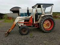 David brown 996 loader tractor