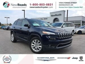 2015 Jeep Cherokee LIMITED|4WD|LEATHER|NAVI|TRAILER TOW