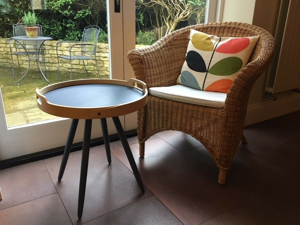 John Lewis Solid Ash Round Tray Table   in Chippenham, Wiltshire ...
