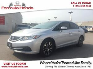 2015 Honda Civic Sedan EX | HEATED SEATS | SUNROOF