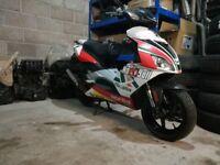 Aprilia sr50 gp1 addition 2011 model. Not Kawasaki Suzuki honda KTM scooter moped