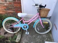 "Probike 20"" girls bike with basket like new"