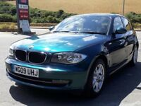 BMW 116i SE 5 DOOR, 2009, 2 OWNERS, ONLY 83K, FSH - 10 STAMPS, PETROL, 6 SPEED, ALLOYS, A/C, SUPERB
