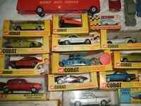 corgi toys wanted from the 1950s/1960s