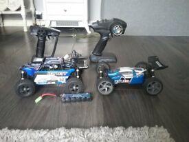2 mavrick 1/18 rc cars RTR