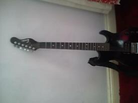 Electric guitar.. couple of small marks on the front selling for 40 Ovo