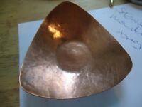 copper trinket dish