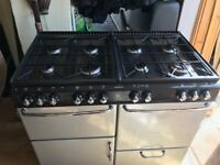 LPG Gas Hob Cooker With Electric Ovens and Grill