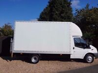 MAN WITH LUTON VAN HIRE REMOVAL SERVICE