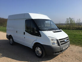 FORD TRANSIT 2.2 TDCI 2008 - SHORT WHEEL BASE / MED ROOF - LONG MOT - DRIVES PERFECTLY - NO VAT!!!!!