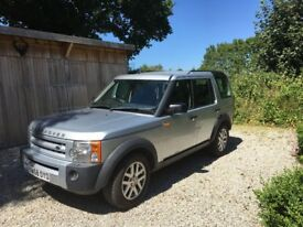 Land Rover Discovery 3 . Owned by us for 5 years. It has 7 seats and goes very well. New ERG valves