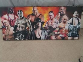 Large Wwe canvas