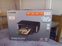 Canon Pixma MP3650 wireless printer (boxed)