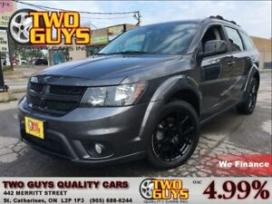 2016 Dodge Journey BLACKTOP 7PASS 3.6L V6 LOW KMS!!