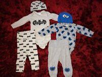 Baby boy 3-6 months big clothes bundle