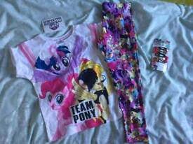 T shirt & legging outfit