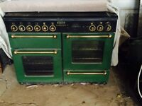 LPG duel fuel range cooker