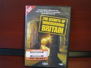 The Secrets of Underground Britain DVD ( NEW )