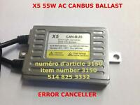HID CANBUS BALLAST X5 HIGH PERFORMANCE 55W  SLIM AC