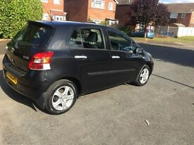 Toyota Yaris diesel black 1.4 D-4D TR 5 door Manual