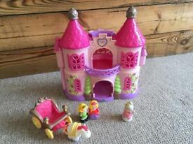 Happy land princess castle and figures