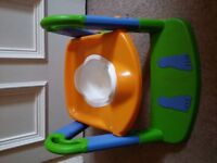 Great potty with toilet training seat