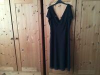 AMANDA WAKELY ELEMENTS BLACK DRESS SIZE 18
