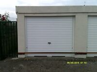 garage in secure gated yard
