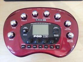 Line 6 POD X3 Guitar Multi Effect Processor