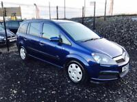 2006 Vauxhall Zafira  7 seater 1.9 Cdti  for sale