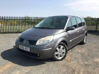 2005 55 RENAULT SCENIC DYNAMIQUE 1.9 DCi *7 SEATER* 5 DOOR - DECEMBER 2018 M.O.T - IDEAL FAMILY CAR!