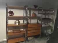 """IKEA """"Vintage"""" shelving units"""