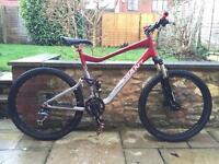 Giant trance x5 downhill mountain bike