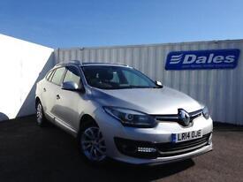 Renault Megane Spt Trr 1.6 dCi Dynamique Tomtom Energy (silver) 2014