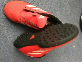 Kids size 11 football boots