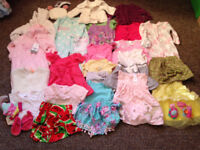 Girls Clothes Bambi/Beatrix Potter 0-3 months some new with tags will post out