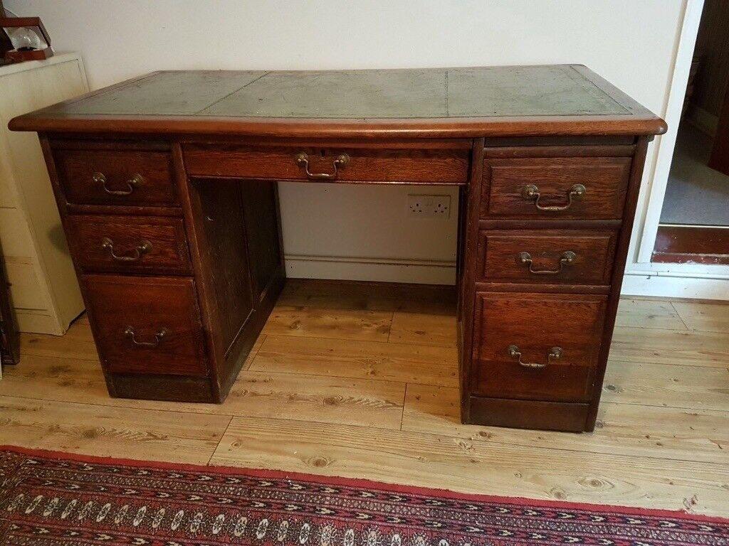 Antique bankers desk - Antique Bankers Desk In Swindon, Wiltshire Gumtree
