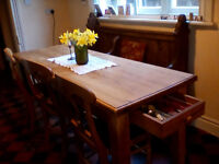 Large Kitchen dining table