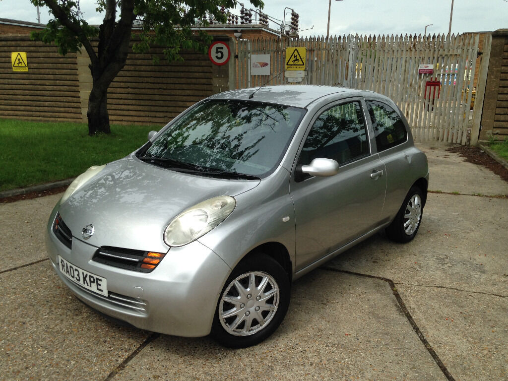 automatic nissan micra 2003 parking sensors excellent drive cheap automatic run around in. Black Bedroom Furniture Sets. Home Design Ideas