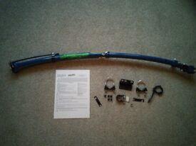 Trailgator bike tow bar - blue