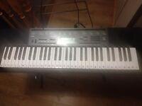 Keyboard casio+stand