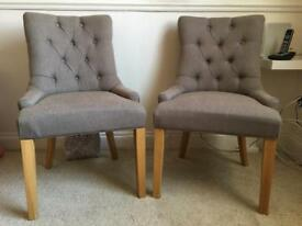 4 x Dining Chairs - Made dot com