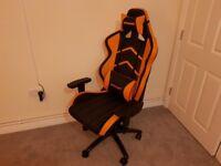 AK Racing Gaming Chair Orange/Black